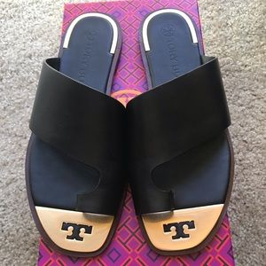 Tory Burch Slides Size 9